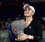 Party For Barty As She Lifts WTA Elite Trophy