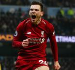 I'm just getting started at Liverpool - Robertson
