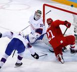 HOCKEY SUR GLACE  - Hommes: Russia 6 Norway 1