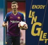 Lenglet happy not to face Messi