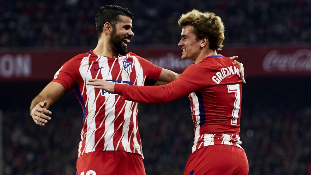 Diego Costa urges Antoine Griezmann to remain at Atletico Madrid