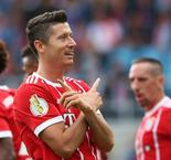 Lewandowski at the double as Ancelotti's men progress in style