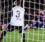 Suarez header gives barca slender first-leg lead