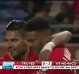 Highlights: Rony Lopes Brace Helps AS Monaco Clinch Second-Place Finish