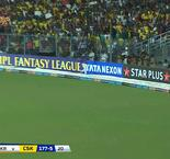 Indian Premier League: Super Kings (177-5) Knight Riders (180-4)