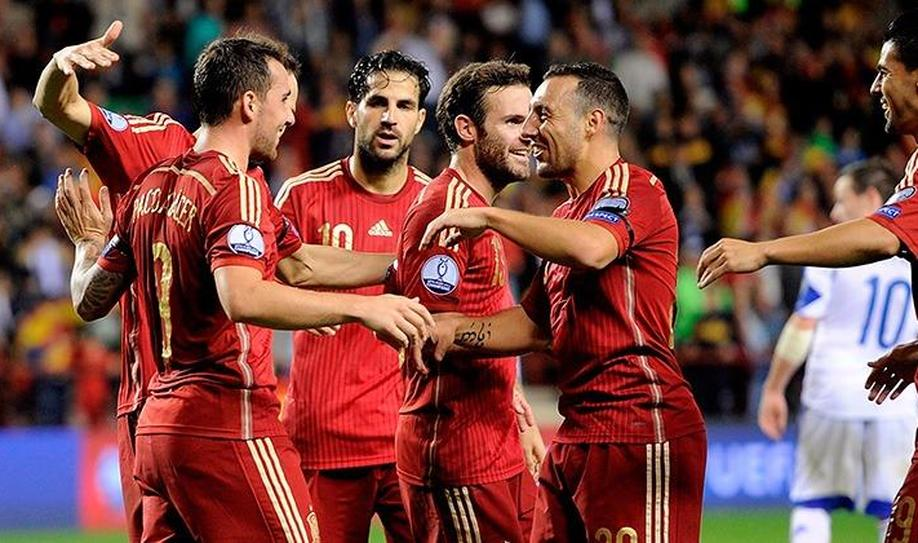 Spain 4-0 Luxembourg