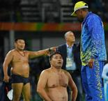 Mongolian wrestling coaches banned for Olympic strip
