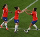 2019 FIFA Women's World Cup:Thailand 0 Chile 2