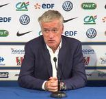 Deschamps unhappy with first half display