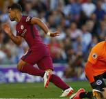 Brighton and Hove Albion 0 Manchester City 2: Ruthless Aguero makes the difference for Guardiola