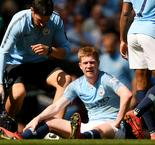 De Bruyne suffers another injury in blow to Manchester City's title challenge