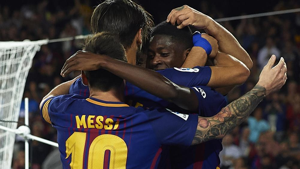 Messi On Target Twice As Barca Blank Juventus — UEFA CL