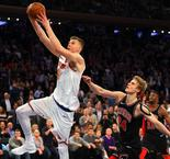 NBA - Porzingis superstar du Top 10