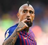 Valverde not worried by Vidal's 'angry' reaction