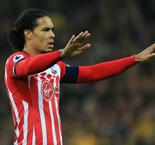 Van Dijk to miss Swansea fixture