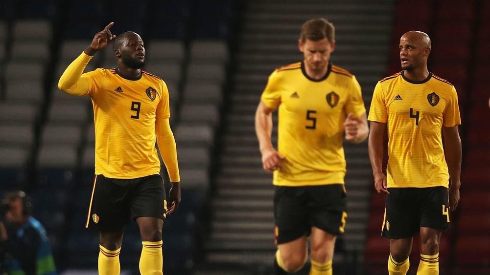 Nations League: Romelu Lukaku stars as Belgium win in Iceland