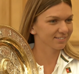Romania welcomes home Wimbledon champion Halep