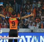 Indian Premier League: Sunrisers Hyderabad 146 (20)  Royal Challengers Bangalore 141-6 (20)