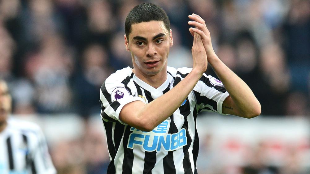 Benitez: A Great Day For Miguel Almiron On His Home Debut