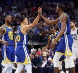 NBA : Curry fait un festival à Dallas