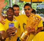Dortmund's Dembele situation difficult, says Aubameyang