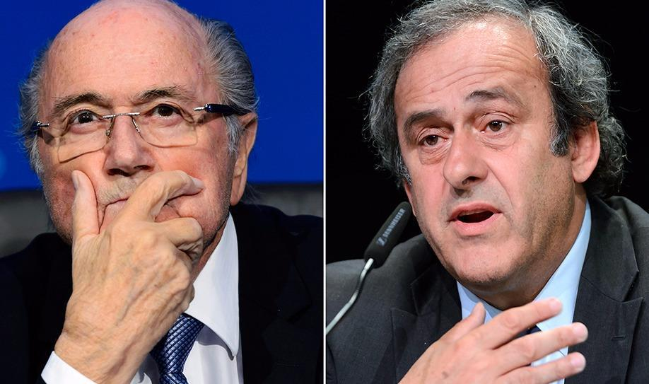 Blatter & Platini banned for eight years