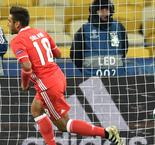 Benfica piles more misery on Dynamo Kyiv
