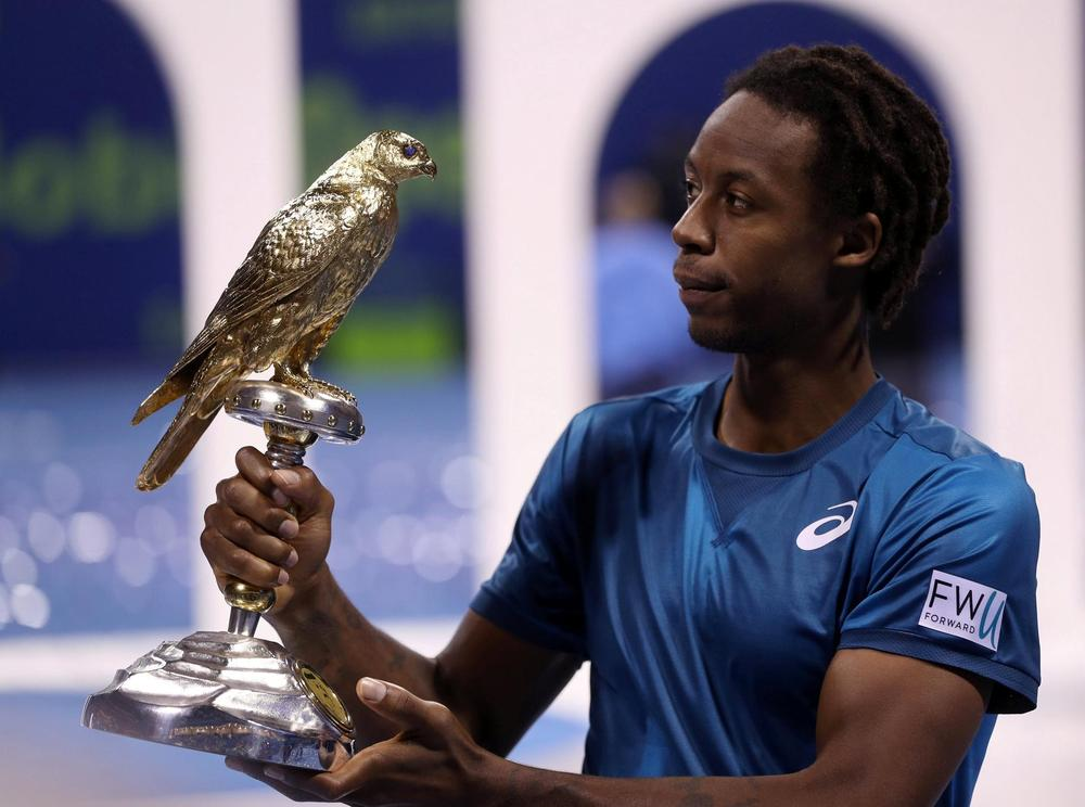 Monfils Returns to Winning Form With Qatar Triumph