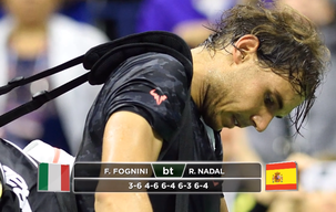 Nadal ousted in five-set epic
