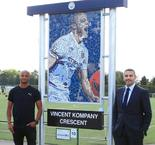 Man City to honour Kompany with sculpture