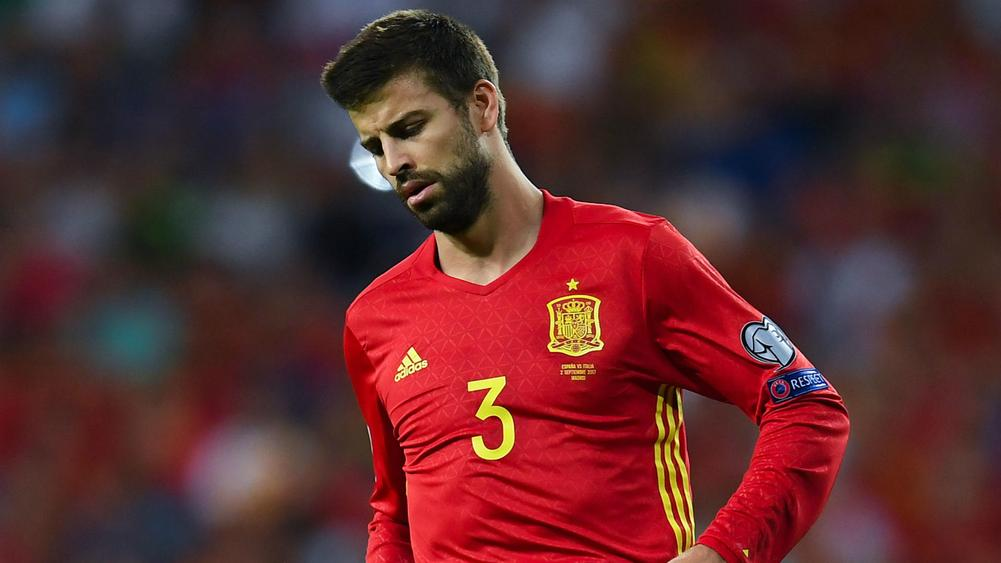 Gerard Pique: I will not be driven out of Spain team