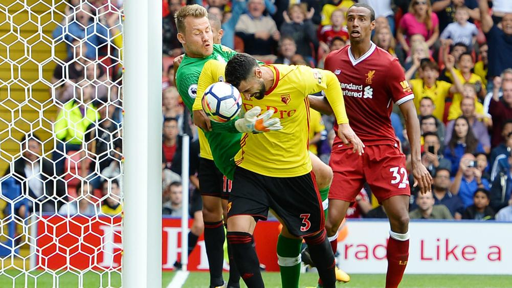 Watford stun Liverpool with late leveller
