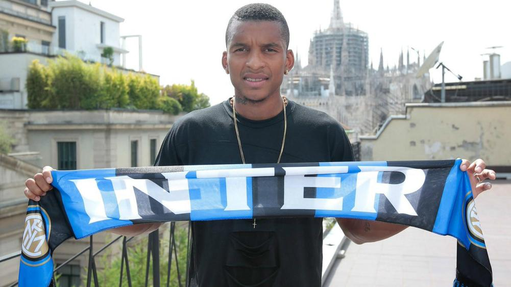 Brazilian left-back Dalbert joins Inter Milan