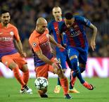 UEFA Champions League: Barcelona 4 - 0 Man City