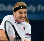 Kvitova outlasts Hsieh, Bencic dumps out champion Svitolina