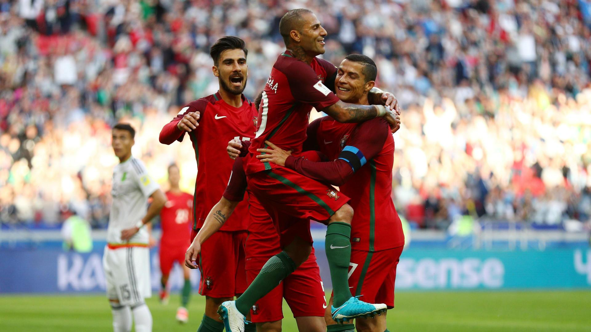 Portugal vs Mexico Confederation Cup group stage match end in draw
