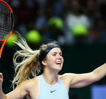 Svitolina dumps Halep out to send Garcia through in Singapore