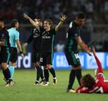UEFA Super Cup: Real Madrid 2 Manchester United 1