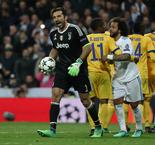 Buffon Receives His First Champions League Red Card
