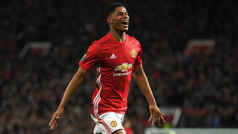 Rashford's late victor sends Manchester United to Europa League semis