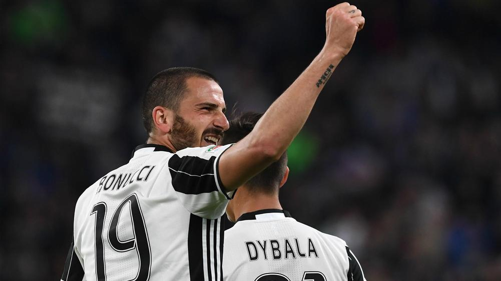 Juventus into Champions League final