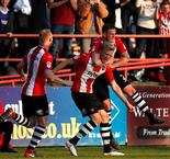 Lincoln City Exeters stage left as Grecians sculpt win
