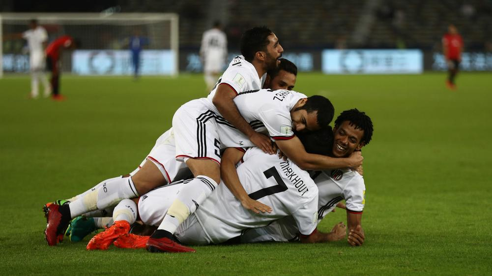 Al Jazira's Romarinho Relishing Real Madrid Test
