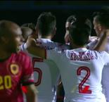 AFCON Highlights: Tunisia 1-0 Angola - Penalty Youssef Msakni