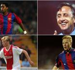 Cruyff, Koeman, Kluivert - De Jong following pantheon of Dutch Barca greats