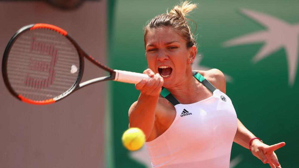 Halep sets up final clash with Ostapenko