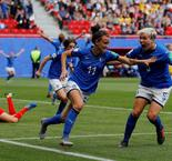 Australia loses to Italy as Brazil flexes muscle
