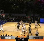 NBA Africa Game : La Team World gagne encore sur la Team Africa