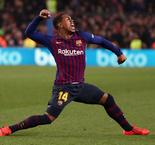 Malcom Scores Barcelona Equalizer Against Real Madrid