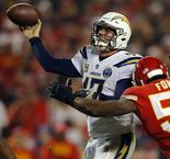 Chargers rally past Chiefs to clinch playoff spot
